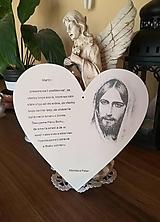 Dekorácie - Srdce ako poďakovanie - 10642899_