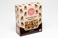 Potraviny - Čokoládové pečené müsli - 10643019_