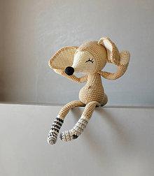 Hračky - fenek v ponožkách - spinkáčik - 10642882_
