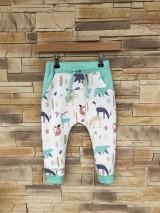 Detské oblečenie - Zvieratkové rastúce tepláčiky - 10642228_