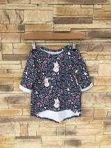 Detské oblečenie - Líštičkové tričko s predĺženým zadným dielom - 10642333_
