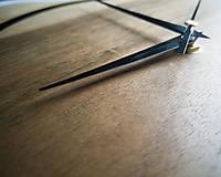 Hodiny - Drevené dekoračné hodiny - RAW 2 - 10642863_