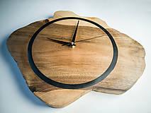 Hodiny - Drevené dekoračné hodiny - RAW 2 - 10642866_