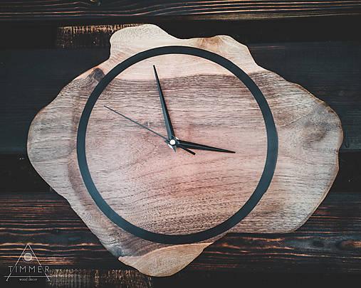 Drevené dekoračné hodiny - RAW 2