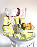 Nákupné tašky - Eko nákupný set. (Veľká taška samostatne) - 10643491_