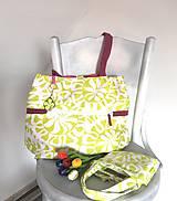 Nákupné tašky - Eko nákupný set. (Veľká taška samostatne) - 10643492_