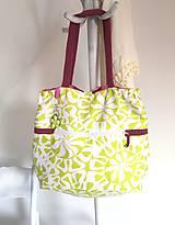 Nákupné tašky - Eko nákupný set. (Veľká taška samostatne) - 10643493_