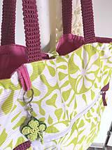Nákupné tašky - Eko nákupný set. (Veľká taška samostatne) - 10643494_