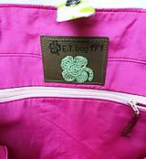 Nákupné tašky - Eko nákupný set. (Veľká taška samostatne) - 10643496_