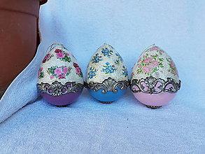 Dekorácie - Veľkonočné vajcia - sada - 10642728_