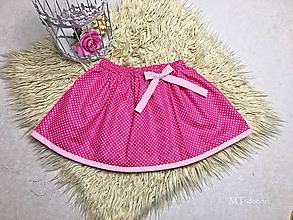 Detské oblečenie - DETSKÁ SUKŇA / SUKNIČKA - 10642777_
