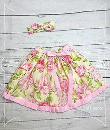 Detské oblečenie - DETSKÁ SUKŇA / DETSKÁ SUKNIČKA - 10642823_