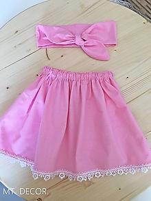 Detské oblečenie - DETSKÁ SUKŇA / DETSKÁ SUKNIČKA - 10642905_