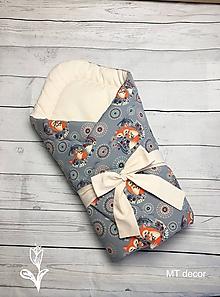 Textil - ZAVINOVAČKA, perinka pre najmenších - 10642960_