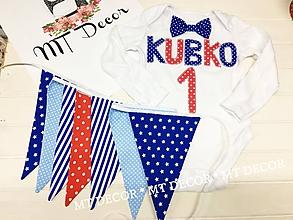 Detské doplnky - Vlajky, girlandy, do fotoštudia.... - 10644601_