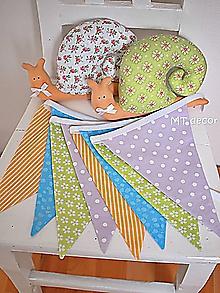 Detské doplnky - Vlajky, girlandy, do fotoštudia.... - 10644659_