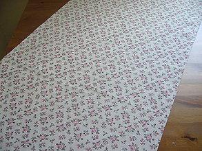 Úžitkový textil - Obrus ruže 99x54 - 10642221_