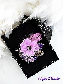 Odznaky/Brošne - Luxusná brošňa - 10643275_