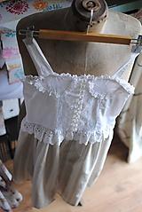 Detské oblečenie - Vintage šaty pre slečnu - 10643052_