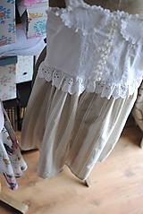 Detské oblečenie - Vintage šaty pre slečnu - 10643053_