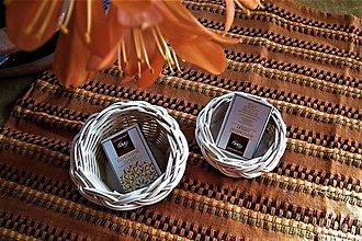 Dekorácie - Košíky z pedigu pre svadobných hostí - 10641556_