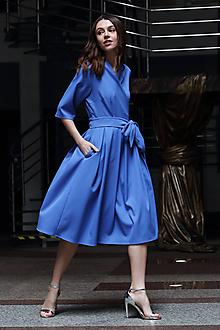 Šaty - Zavinovacie šaty Beláska - 10645759_