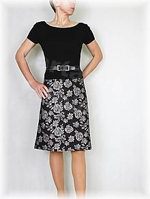 Sukne - Sukně z krásné rifloviny  vz.605 - 10644932_