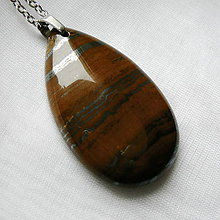 Náhrdelníky - Tigrie železo - 10645873_
