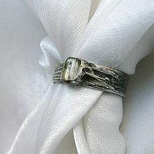 Prstene - Prsteň s krištáľom ☼ MÉLISANDE  ☼ - 10646924_