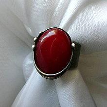 Prstene - Prsteň s jadeitom ☼ MICHÈLE ☼ - 10647343_