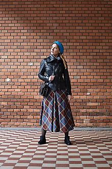 Sukne - AILI - midi sukňa s prackou - 10646394_