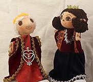 Hračky - Maňuška. Bábika Kráľovna Viktória - 10645204_