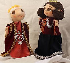 Hračky - Maňuška. Bábika Kráľovna Viktória - 10645205_
