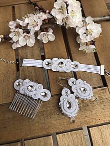 Sady šperkov - Svadobný set MADISON (Náušnice (farba podľa priania)) - 10645635_