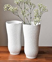 Dekorácie - Váza s kapkami na glazuře - 10647221_