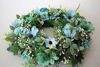 """Dekorácie - Kvetinový veniec """"FORENCE"""" - 10645800_"""