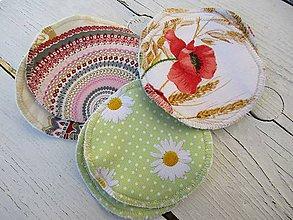 Úžitkový textil - tampóny pre dojčiace matky s PUL extra silné - 10645032_