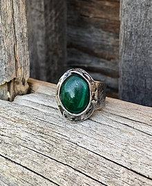 Prstene - Malachit - prsteň - 10646880_