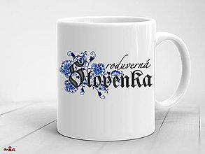 Nádoby - Roduverná Slovenka - šálka - 10647138_