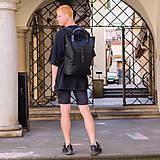 Veľké tašky - batoh taška TWINS BLACK - 10646334_