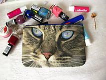 Taštičky - Taštička na mobil - kočičí oči  - 3 různé kočičky - 10645239_