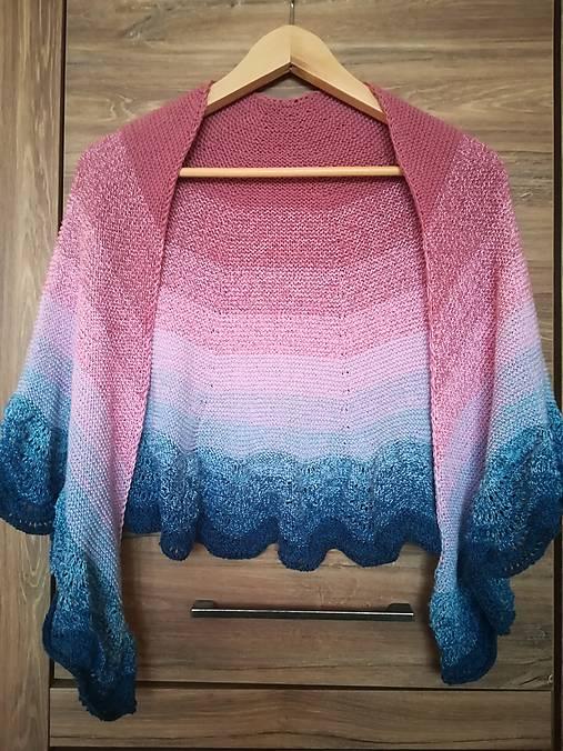 Ručne pletená šatka