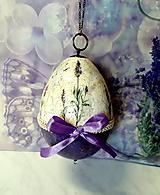Dekorácie - Levanduľová kraslica - 10646640_