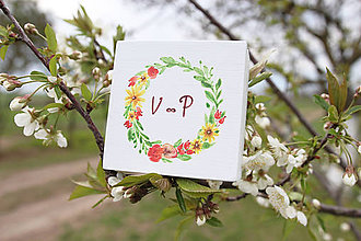 Prstene - Svadobná krabička jar - 10646125_