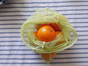 Nákupné tašky - Eko sáčok / vrecko na ovocie a zeleninu stredné - 10645876_