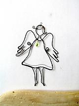 Detské doplnky - Jarný anjel - 10647089_