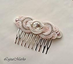 Iné šperky - Dominika hrebienok swarovski - 10646350_