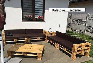Úžitkový textil - Paletové sedenie - 10647098_