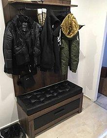 Úžitkový textil - Sedák na chodbovú lavicu - 10647101_