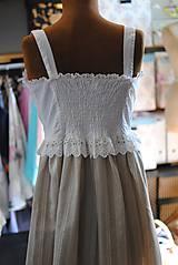 Detské oblečenie - Vintage šaty pre slečnu - 10645268_